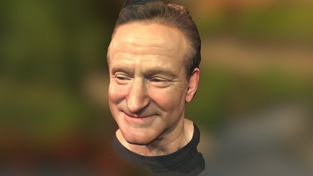 Robin Williams 3D Model