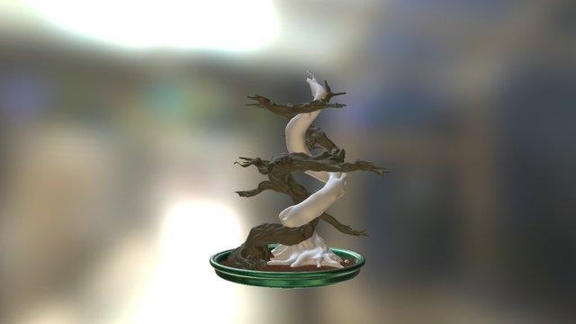 8 - Old Tree 3D Model