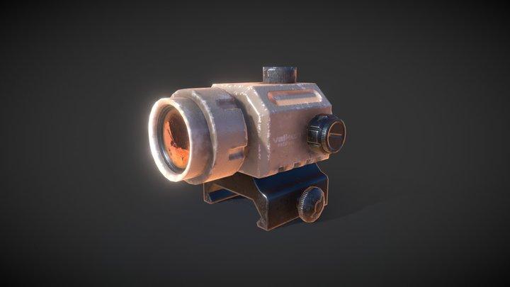 Valken Mini Red Dot Sight 3D Model