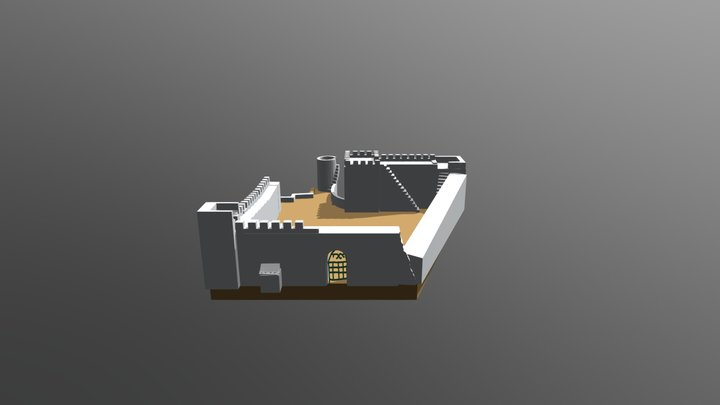 T57 Castelo de Tavira 3D Model