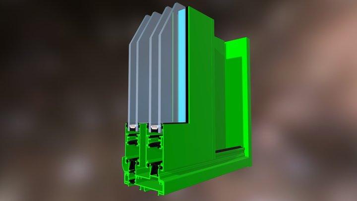 Esquina QGOSS Testa 3D Model
