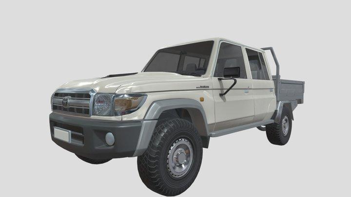 Land Cruiser 79 Series 2018 3D Model