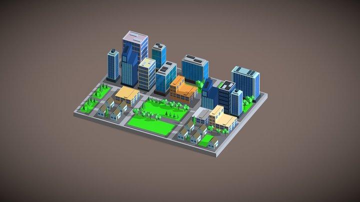 Isom City 3D Model