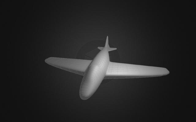 Avion.blend 3D Model