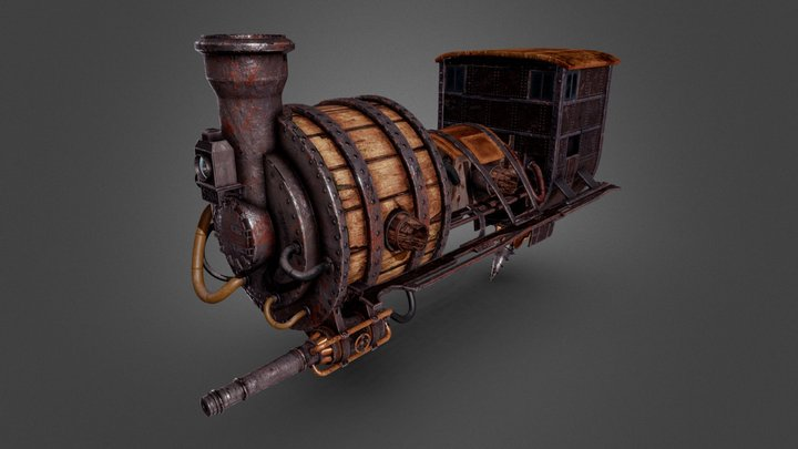 Sunless Skies - Tackety Scout 3D Model