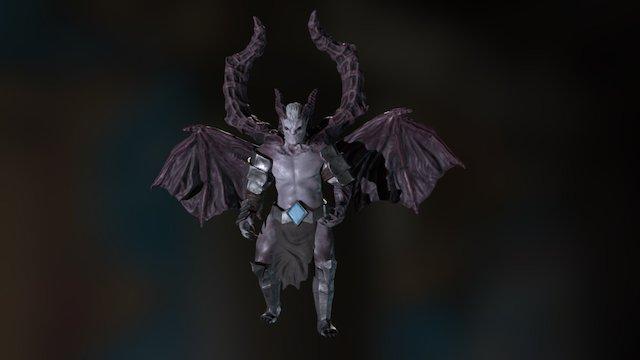 Demon of Sloth 3D Model