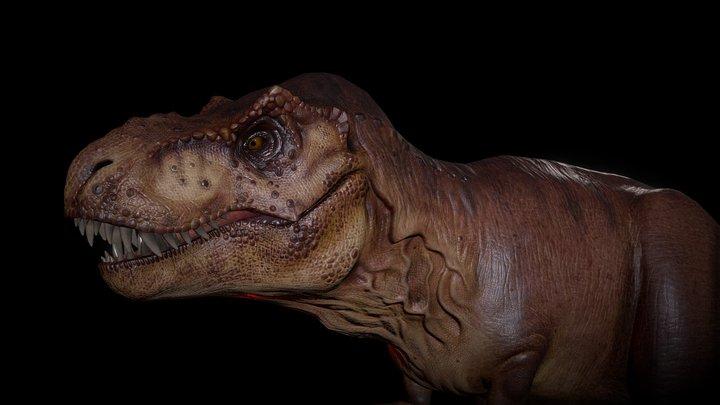 T-REX Tyrannosaurus (Final) 3D Model