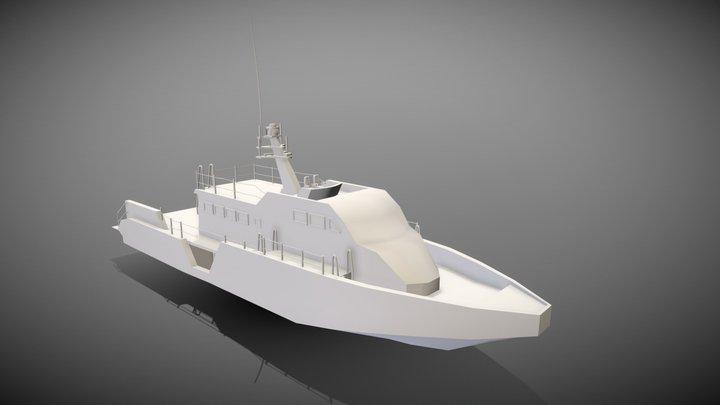 Mark VI Boat 3D Model