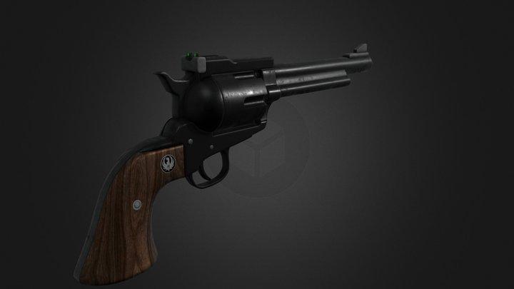Ruger Blackhawk 3D Model