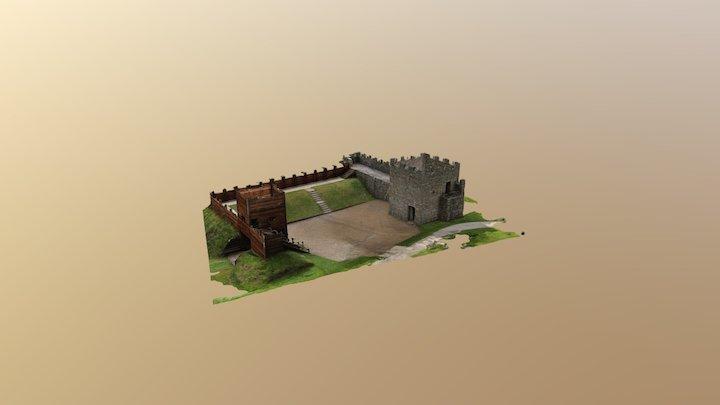 Hadrian's Wall reconstruction 3D Model
