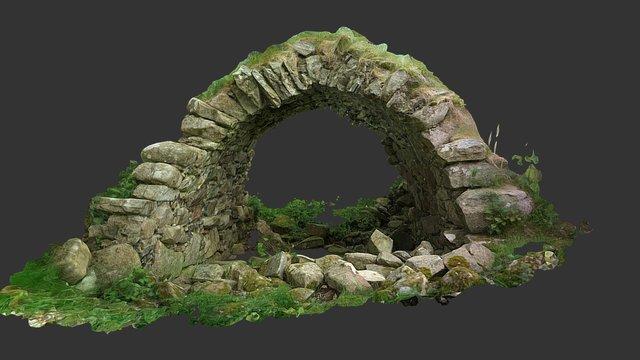 Drumgath Graveyard 'Morturary' 3D Model