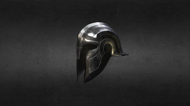 Greek helmet 3D Model