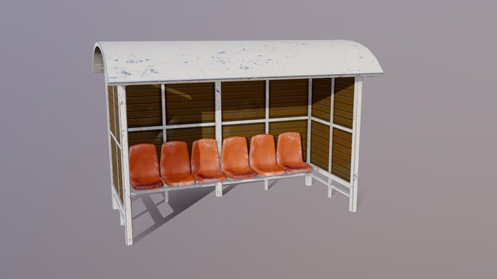 Waiting Shed 3D Model