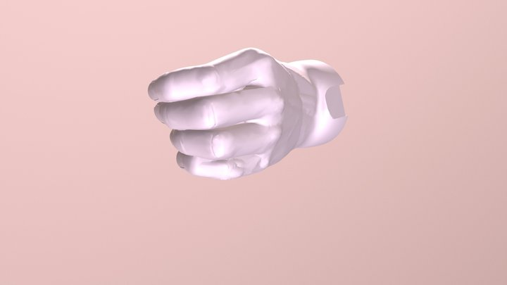 Gripper Thumb Terminal Device- Prosthesis 3D Model