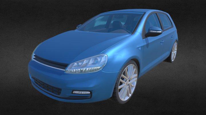 Volkswagen Golf Mk7 3D Model