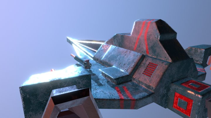 Battle_Fighter_V4 3D Model