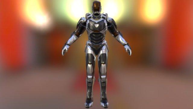 Iron Man Mark XXXIX - Gemini / Starboost 3D Model