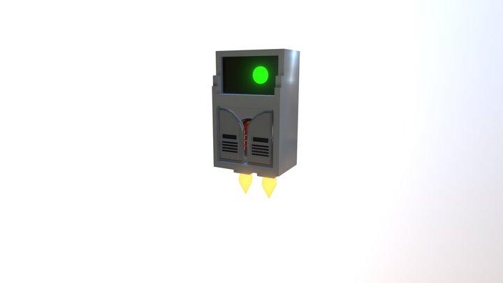 Trove - Punch bot 3D Model