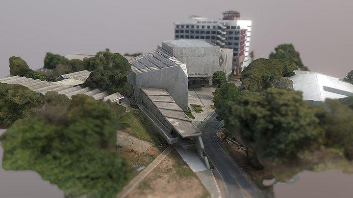 อาคาร 50 ปี วิศวะ  มข. 3D Model
