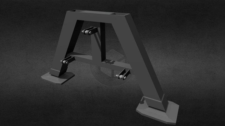 Parkingstand 3D Model