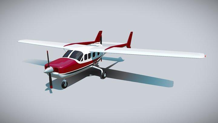 Cessna Skymaster 337 airplane 3D Model