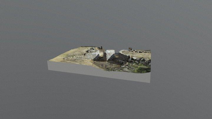 Puente medieval de Navalagamella (Madrid) 3D Model