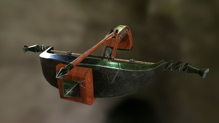 Witcher 3 inspired Crossbow 3D Model