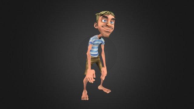 JB (Crazy Pirate Slots 2) 3D Model