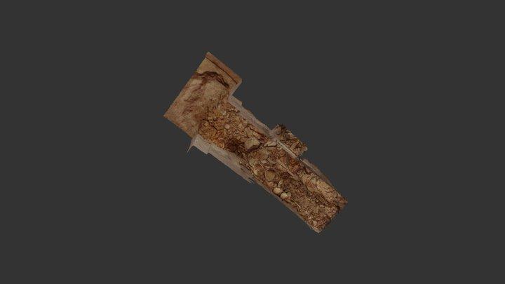 Qubbet el-Hawa QH32 tomb: SE burial chamber 3D Model