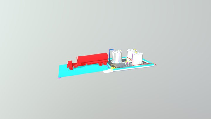 MODELO-3D-ESTRUCTURA-1-8-19-PARA-MICROS 3D Model