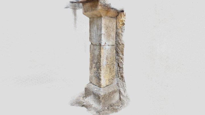 Pilier Gauche 3D Model