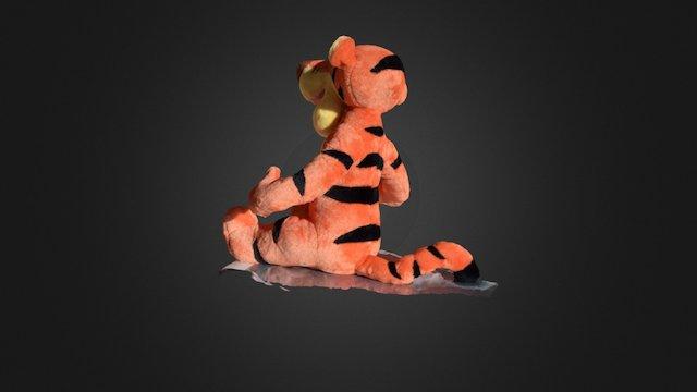 tiger Tigger 3D Model