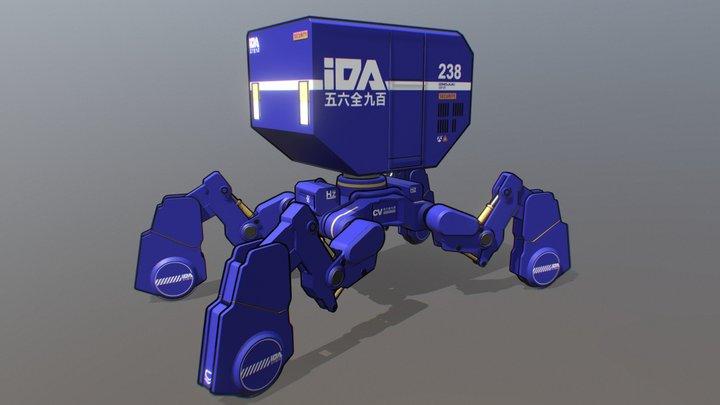 Izmojuki Probe 20WT-SPG 3D Model