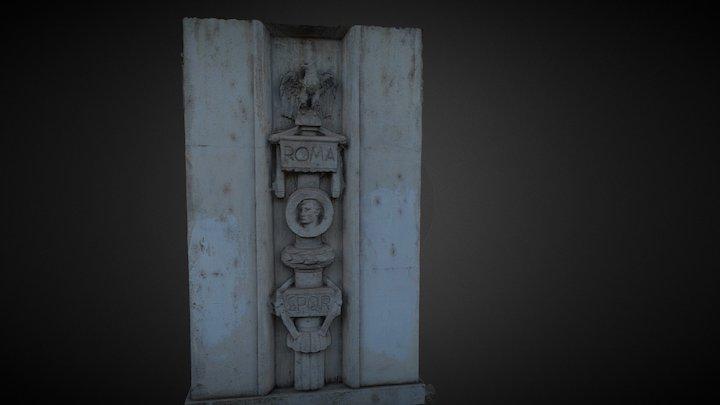 Rome Column 3D Model