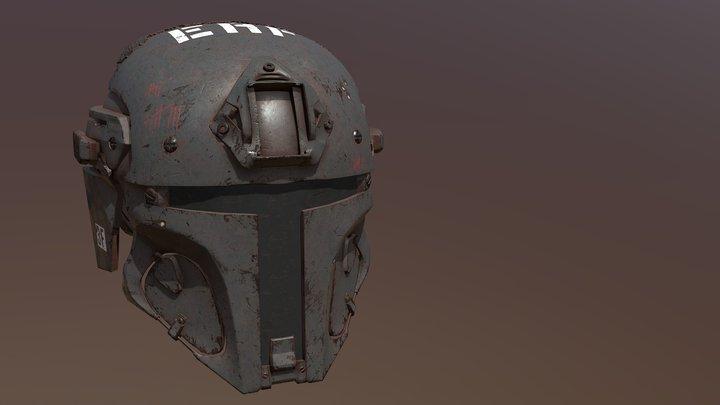 Mandalorion Helmet 3D Model