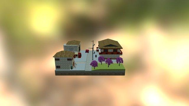 cityscene_Japan 3D Model