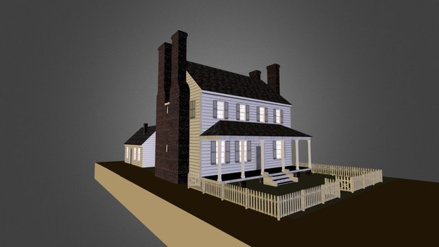 George Wade House 3D Model
