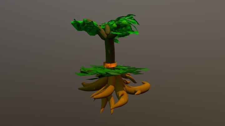 Monk Tree 3D Model