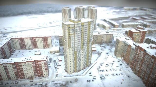 "Building under construction - ""Height"" 3D Model"