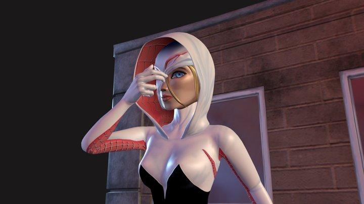 Spider Gwen 3D Model