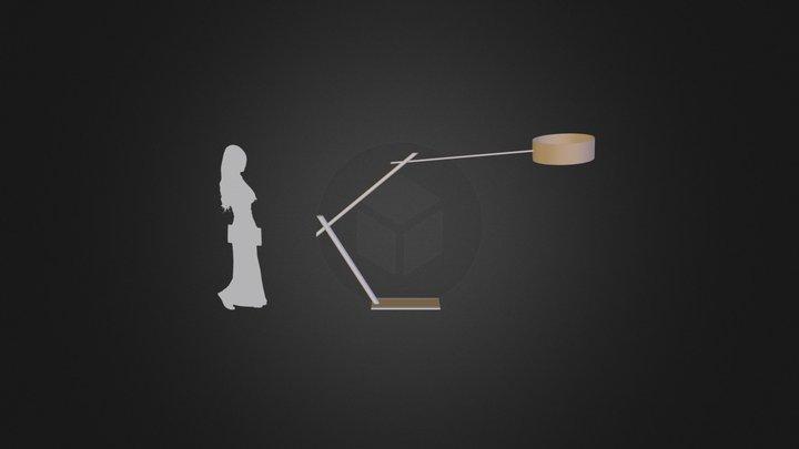 Lampa Gabariti Vtoroj Kraj 3D Model