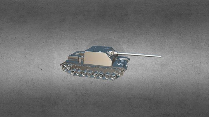 jagd-panzer IV/70 (A) 3D Model