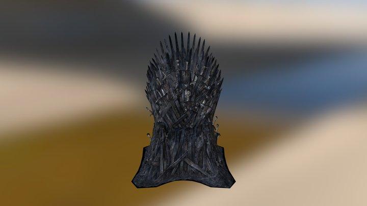 Iron Throne 3D Model