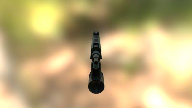 Vision Games Uzi 3D Model
