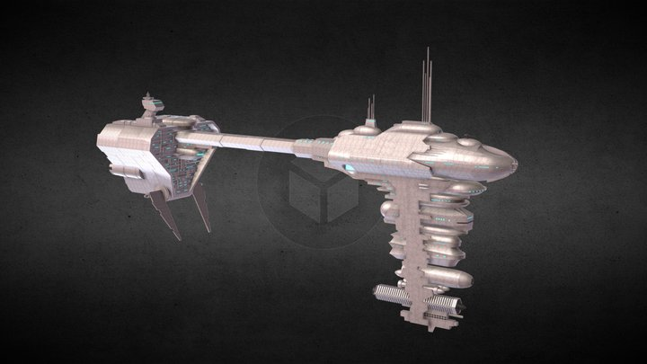 Star Wars: Nebulon B Frigate 3D Model