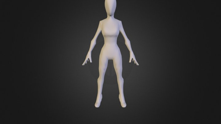MattO_-_Stylized_Female_A 3D Model