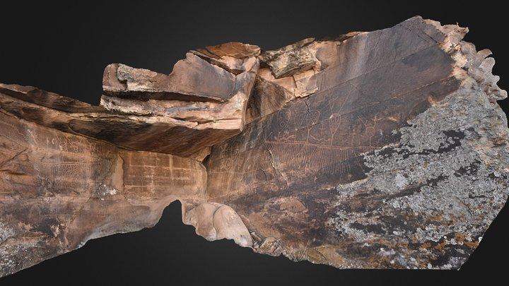 Petroglyph Panels, Little Colorado R. Drainage