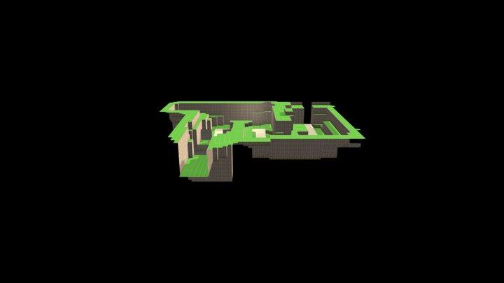 Area 2 Mountain Trail 3D Model