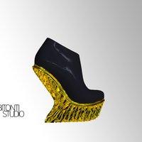 United Nude Mutatio Shoes 3D Model