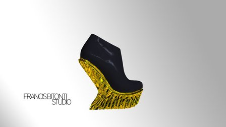 United Nude Mutatio Shoes 3D Model